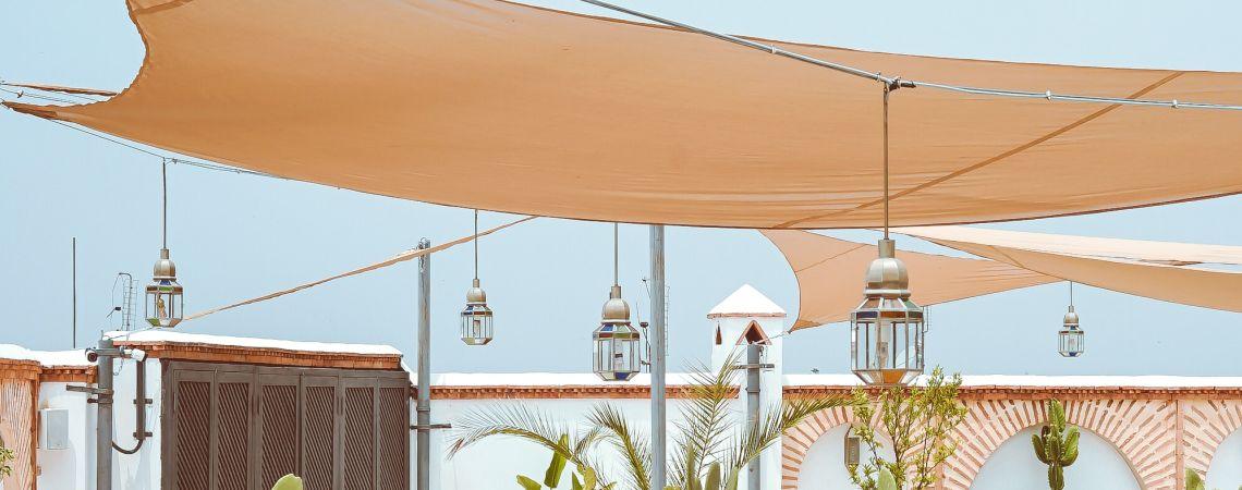 Terrassenbeschattung Stilvolle Losung Sonnensegel123 Ch